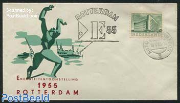 Special cover Energy exposition Rotterdam 1955 (Autopostkantoor)