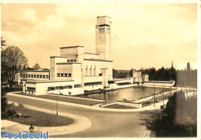 Postcard 5c on 7,5c, Serie IV Nr 7, Hilversum