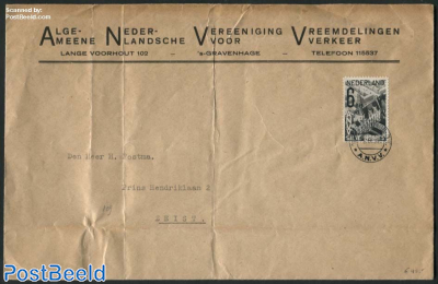 Letter with NVPH No. 245