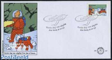 Comics, Tin-Tin 1v FDC