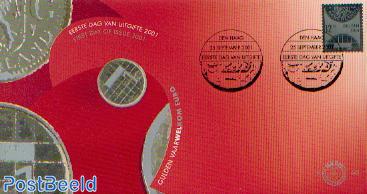 Silver stamp 1v FDC