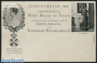 Postcard 2.5c, C. Bisschop