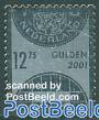 Silver stamp 1v (metal foil s-a)