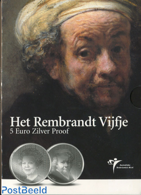5 Euro 2006 Rembrandt, Proof in Folder