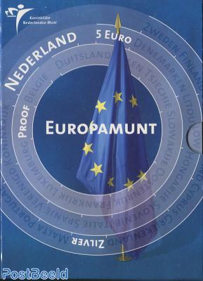 Proofset 5 Gulden Europa