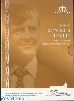 Proofset 10 Gulden KIng Willem-Alexander