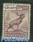 5c, Type I, Perf. 12.5, Stamp out of set