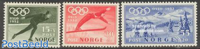 Olympic Winter Games Oslo 3v