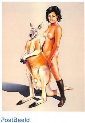 Mel Ramos 1968, Red Kangaroo