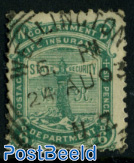 6P green, used