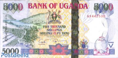 5000 Shillings 2009