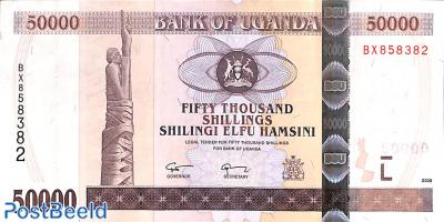 50000 Shillings 2008
