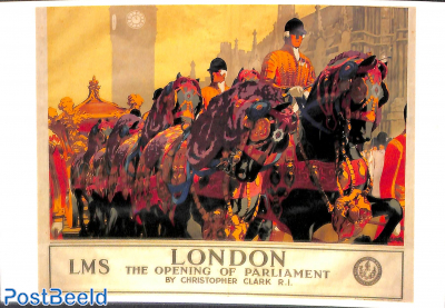 London, The opening of Parliament