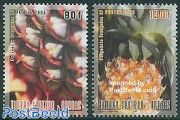 Ananas 2v, fragrant stamps
