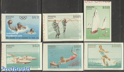 Olympic games & sports 6v imperforated