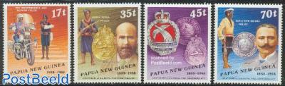 Police centenary 4v