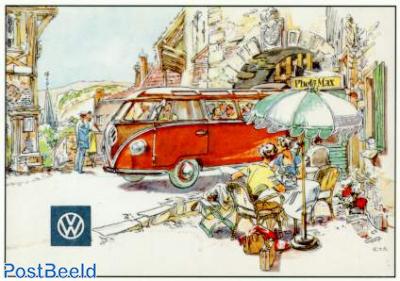 Volkswagen Transporter, through gate