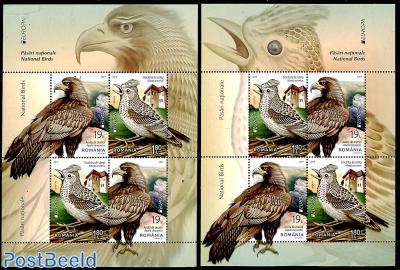 Europa, birds 2 s/s
