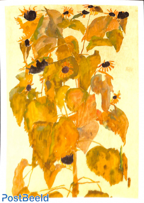 Egon Schiele, Sunflowers
