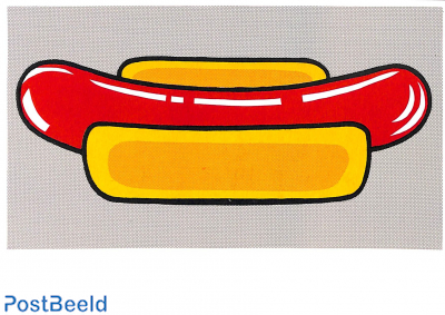 Roy Lichtenstein, Hot Dog 1963