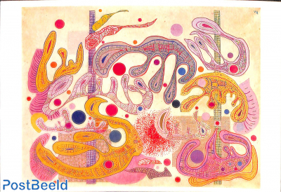 Vasily Kandinsky, Formes capricieuses, 1937