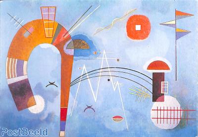 Vasily Kandinsky, Rond et Pointu, 1930