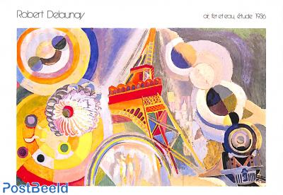 Robert Delaunay, Air, Fer et Eau, étude 1936