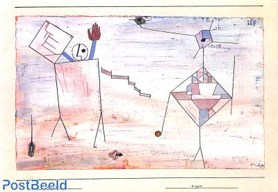 Paul Klee, El (201) Regie, 1930