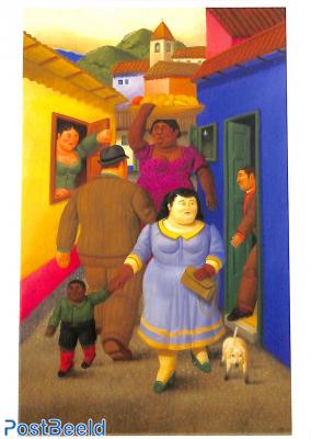 Fernando Botero, The street 2000
