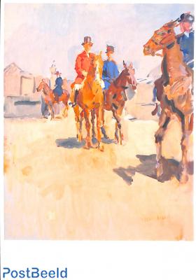 Isaac Israels, Rendez-vous de chasse, 1928