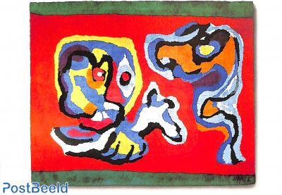 Karel Appel, Goodbye in Red