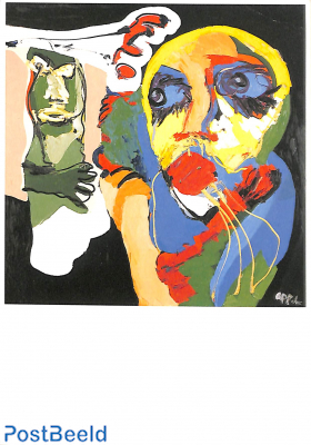 Karel Appel, Waiting for the fight