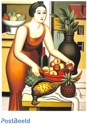 Jean Metzinger, Woman with a pheasant, 1926