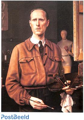 A.C. Willink, Self portrait 1944