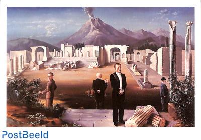 Carel Willink, Late bezoekers aan Pompeï