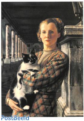 Carel Willink, Wilma met kat 1940