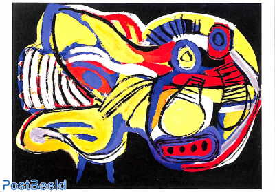Karel Appel, Flying dog