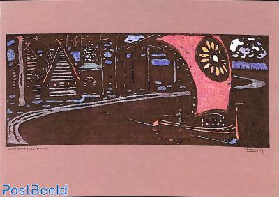 Wassily Kandinsky, The pink sail 1903