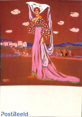 Wassily Kandinsky, The walking Lady 1903