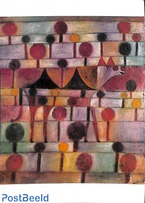 Paul Klee, Kamel in rythmischer Baumlandschaft 1920