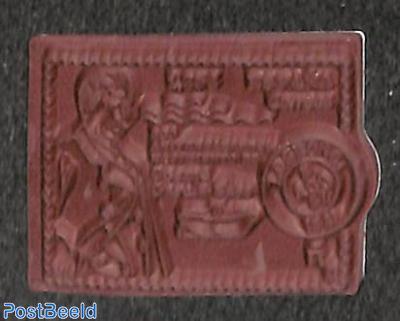 Cosme Garcia Saez 1v, rubber stamp