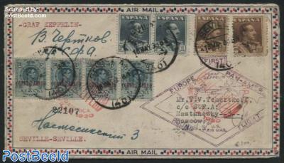 Europe Pan-American Round flight Graf Zeppelin