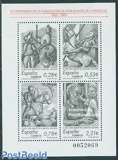 Don Quijote de la Mancha 4v m/s