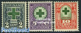 Green cross 3v