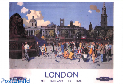 London, See England by rail