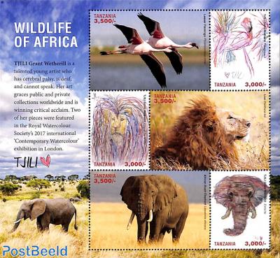 Wildlife of Africa 6v m/s