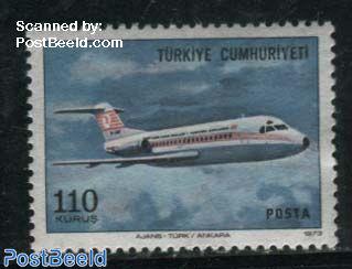 Fokker F28, Stamp out of set