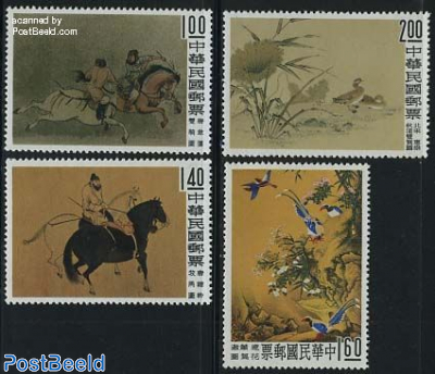 Old chinese paintings 4v