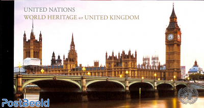 World heritage, Great Britain booklet