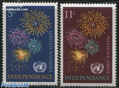 New independent countries 2v